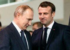 Президент Франции попросил Путина помочь в борьбе с терроризмом и мигрантами