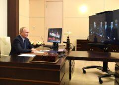 Президент запустил в Братске цех по производству вакцин от коронавируса